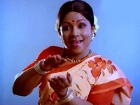 Tamil commedy actors manoramma meme template