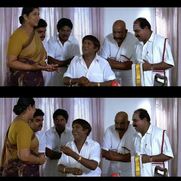 Neenga satharana mana alla entha area counselar meme template