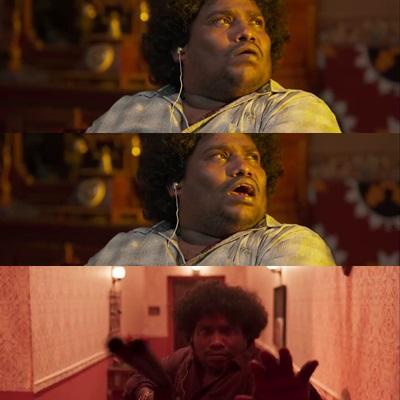 Airaa movie meme template Yogi babu