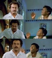 chandramukhi comedy pai irukka ilaya ethu mattum sollupa  meme template