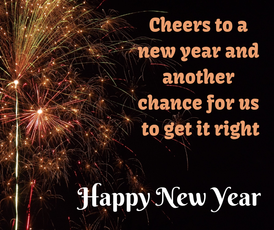 cheers to new year wishes image