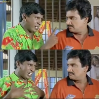 Vadivelu funny Reactions meme template