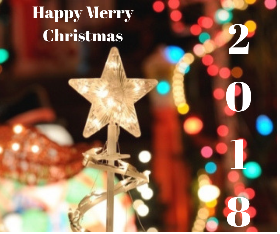 happy Merry Christmas 2018 image free download
