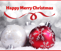 happy merry christmas fb  post