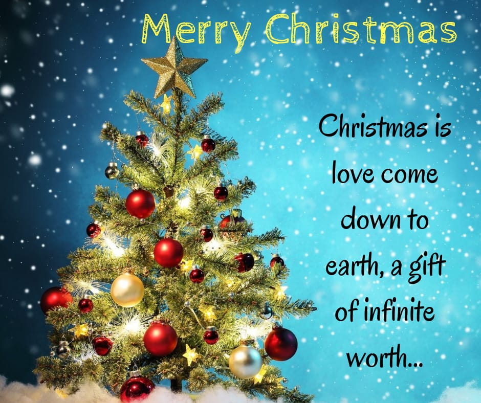 christmas is love come down to earth images for friends