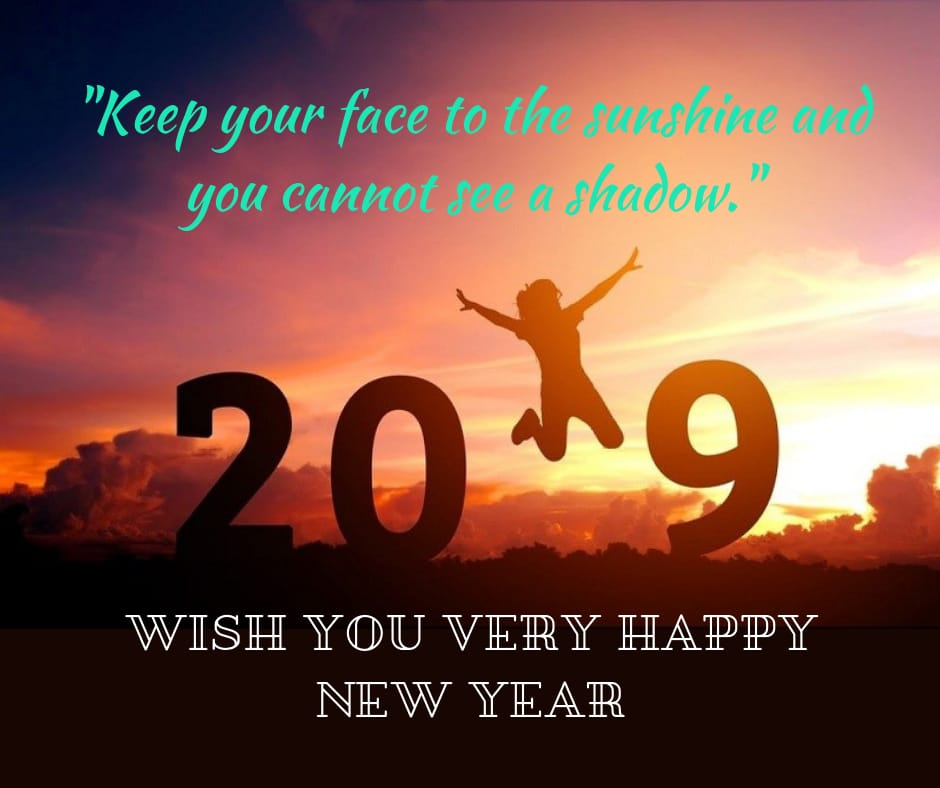 wish you a very happy new year 2019 image free download