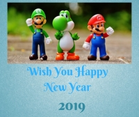 wish you happy new year 2019 image for whatsapp dp