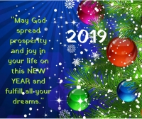 may god spread prosperity new year images