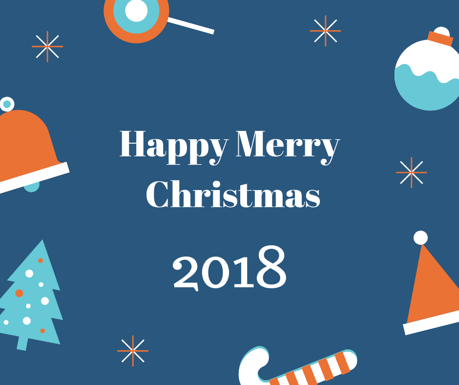 Happy merry christmas 2018 beautiful image free download