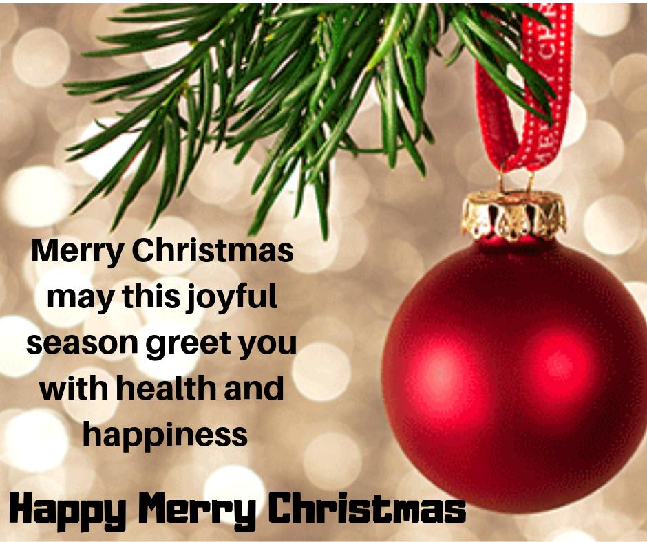 joyful season greet you with health and happiness