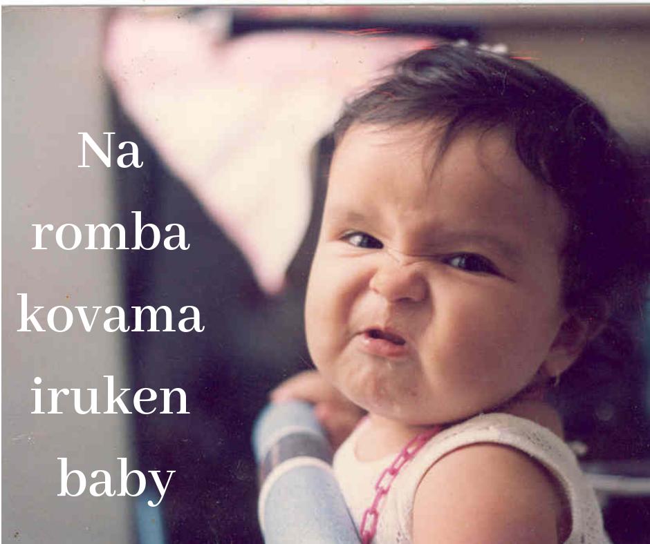 na romba kovama iruken baby image for fb post