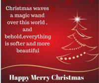 christmas waves a magic wand image for fb post