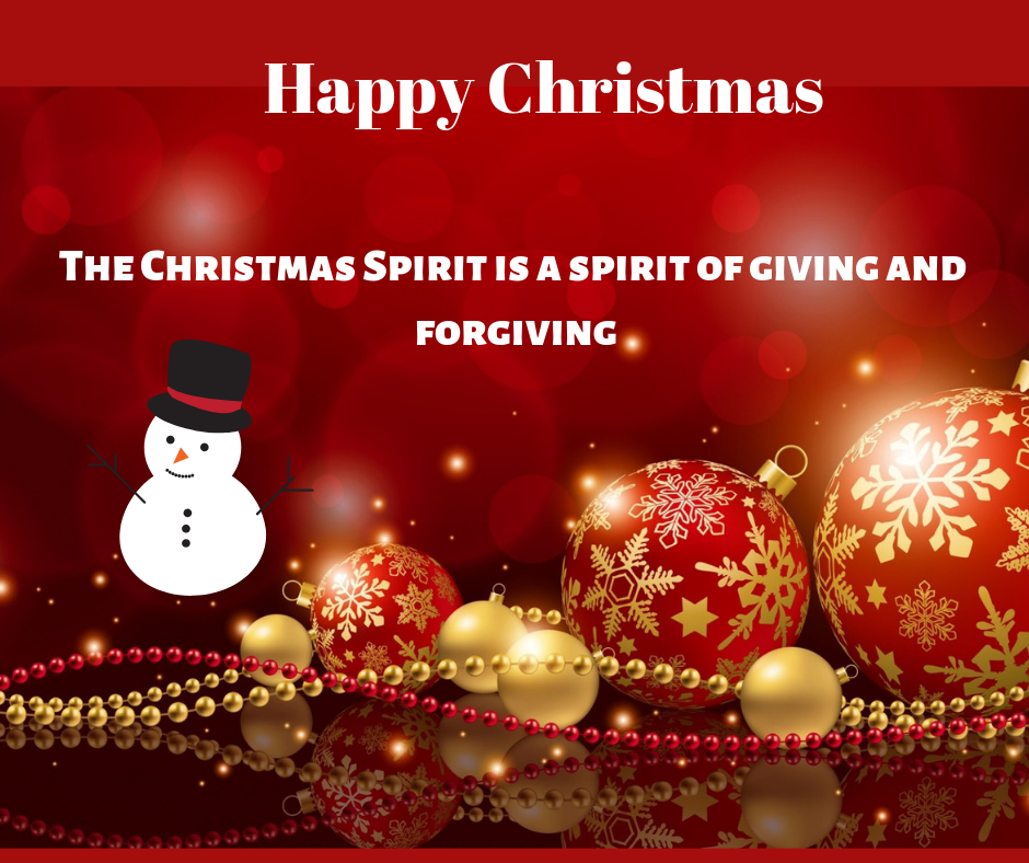 The christmas spirit image free download