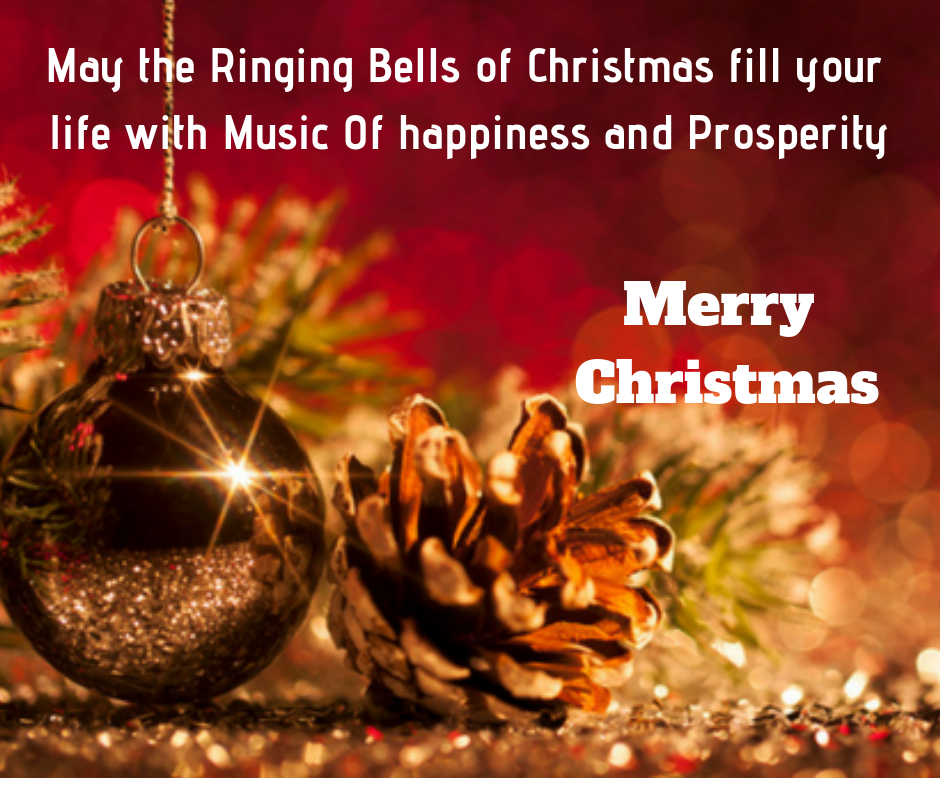 ringing bells of christmas wishes image
