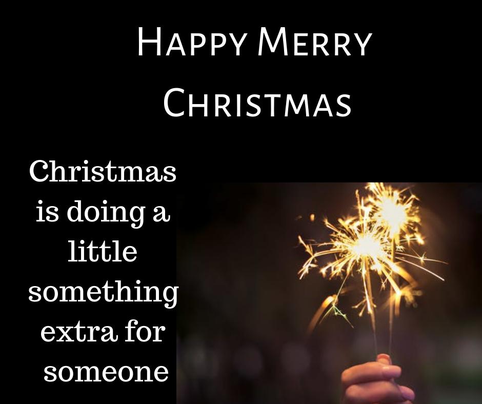 christmas is doing little something image