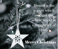 Blessed is the season image