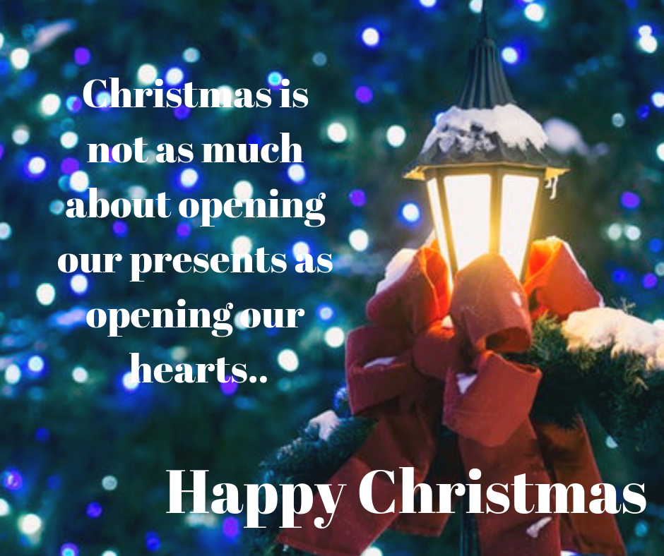 christmas opening our hearts image