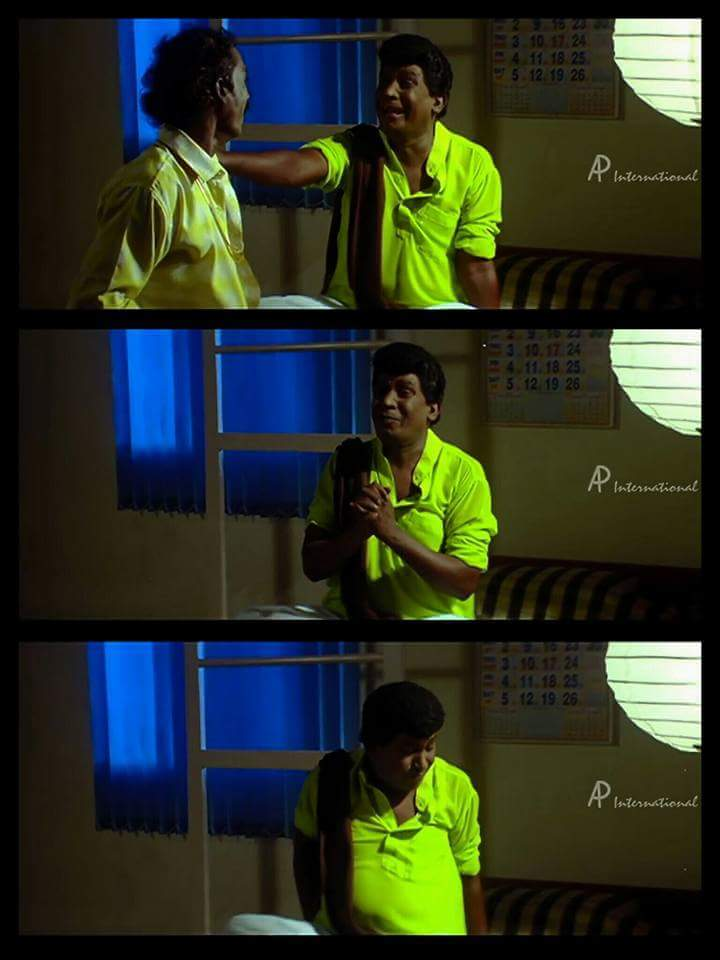 Vadivelu and muthu kaalai comedy actor fb comment picture meme template