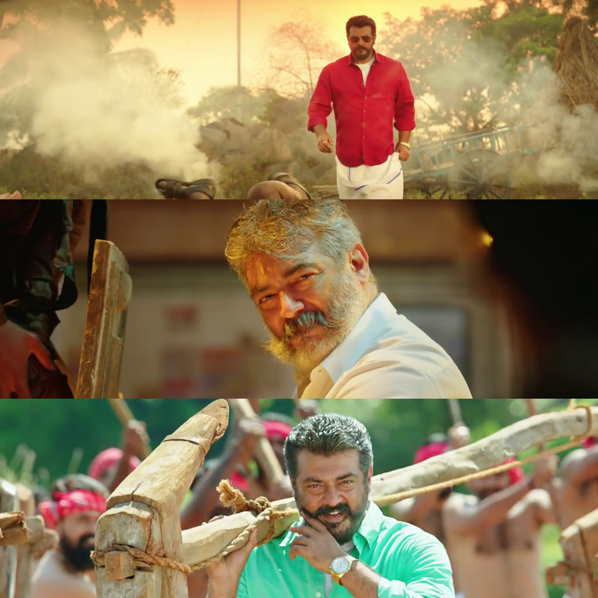 Viswasam joined photos meme template