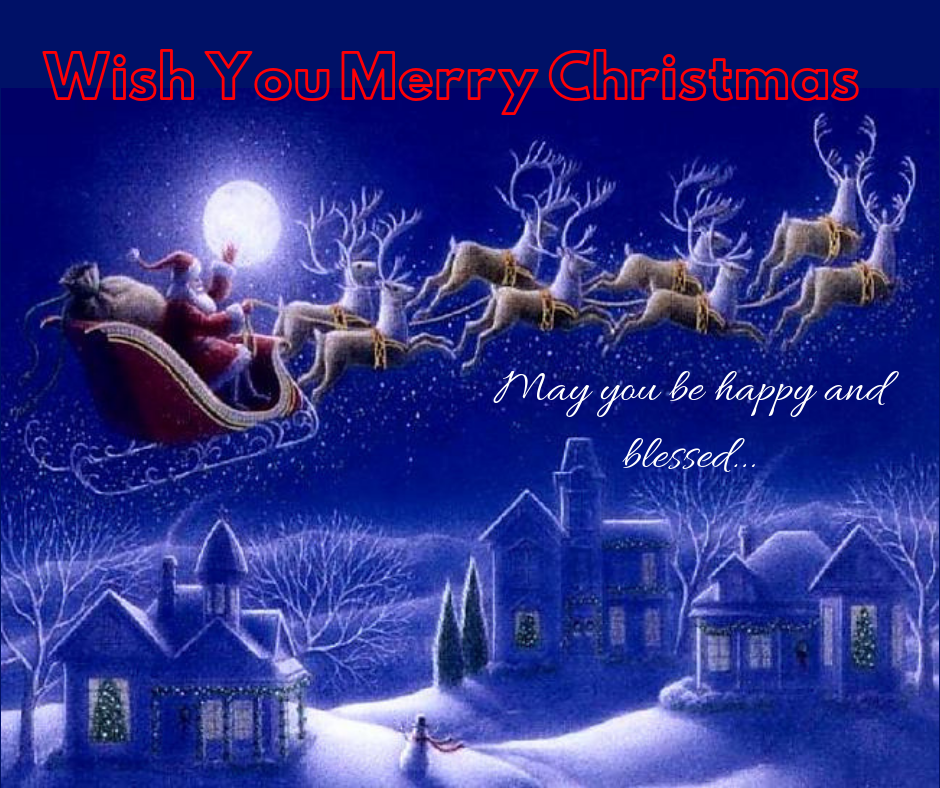 wishing you a very happy merry christmas image