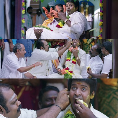 Kadu anniyum villa soori meme template Thotathree