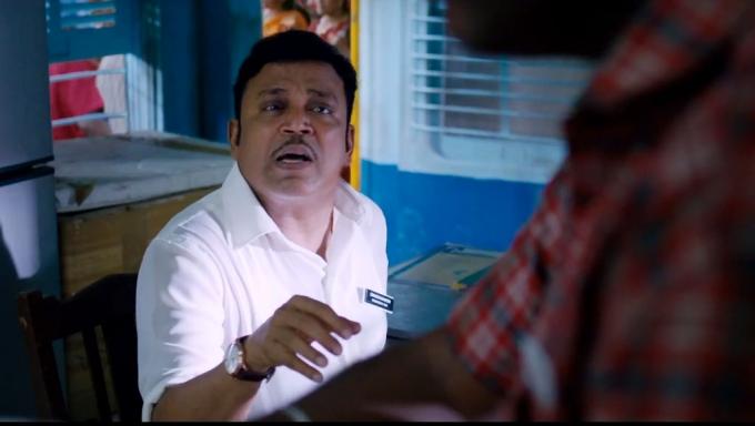 Thodari movie thambi ramaiah canteen owner meme template
