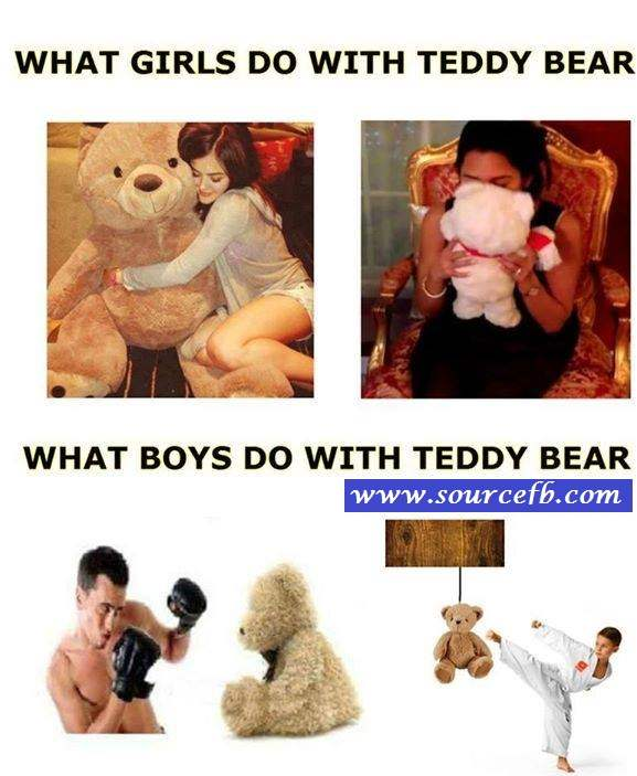 Boys And Girls With Teddy Bear Comment Photos Meme Templates