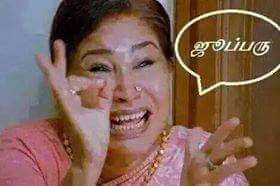 Tamil actress kovai sarala Fb comment pics